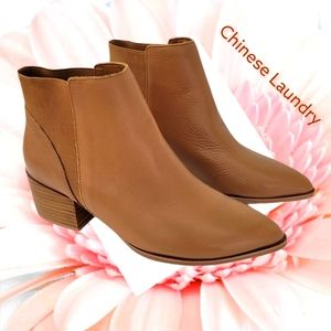 Chinese Laundry pointed toe booties